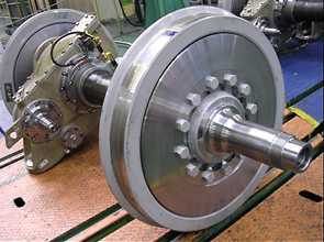 Wheels and axles  Railway, Automotive, Machinery Parts   Select by type    Products   Nippon Steel Corporation